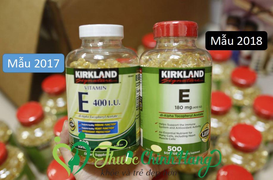 vitamin-e-kirkland-400iu-mau-moi