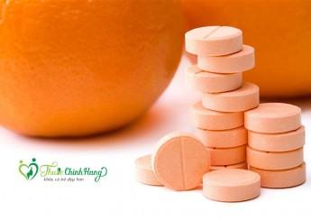 vitamin c 500mg nen uong mot ngay may vien