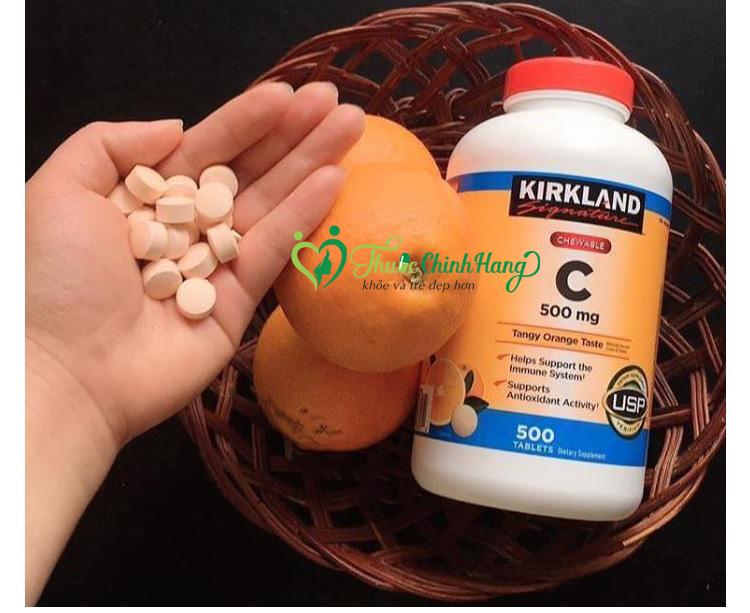 vitamin c 500mg nen uong ngay may vien
